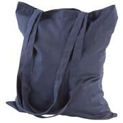 Холщовая сумка Basic 105, синяя фото