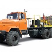 Установка насосна пересувна КрАЗ-63221 УНП-160х40 фото