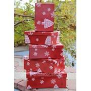 Новогодний набор коробок «Ёлка« фото