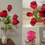 Букет роз многослойных 7 голов 55 см фото