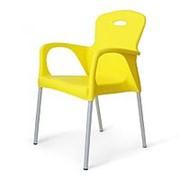 Стул пластиковый XRF-065-BY Yellow фото