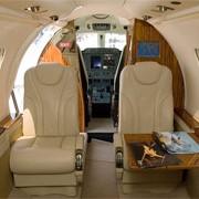 Пассажирские версии салона самолетов.Premier 1A (2005 и 2006, 6 мест). фото