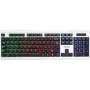 Клавиатура usb Гарнизон GK-110L стандартная с радужной подсветкой, Rainbow фото