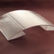 Коньковый соединительный профиль 8-10мм прозрачный фото