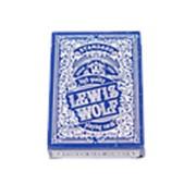 """Карты игральные Miland """"Lewis & Wolf"""" blue, 54 шт./колода, индивид. уп., ИН-3828 фото"""
