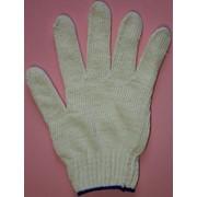 Перчатки рабочие х/б 4-x ниточные без нанесения ПВХ фото