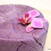 Паста для лепки Мастика Polen пурпурная (темно-фиолетовая), 1 кг фото