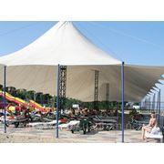 Тенты, шатры, тентовые конструкции фото