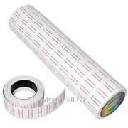 Этикетки-ценники c красной полосой, 12 x 21 mm, 500 шт. CN1300-14 фото