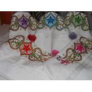 Махровые полотенца Органза фото