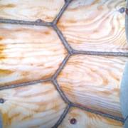 Конопатка стен бревенчатого дома фото