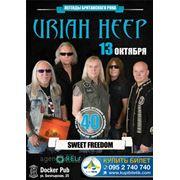 Концерт Uriah Heep в Донецке, доставляем билеты Новой Почтой в любой город Украины фото