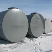 Резервуар горизонтальный стальной одностенный - РГС 75 м3 фото