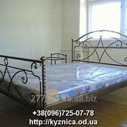 Кованая кровать Модель ККТ-017 фото