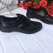 Женские туфли из натур. кожи. ДС-24-1018 фото