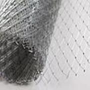 Сетка оцинкованная 20х20x0,8; ЦПВС, сетка штукатурная, сетка просечно-вытяжная, фото