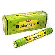 Благовония HEM, шестигранники, Aloe Vera (Алоэ Вера), 20 палочек фото