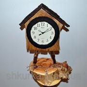 Часы из дерева ЧД 009 фото