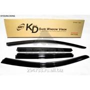 Дефлектор окон черный по 3 компл в упаковке Kyoung Dong, кросс_номер 93743237 фото