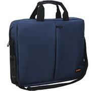 Сумка для ноутбука 15.6д Exegate Office F1590 dark-blue, тёмно-синяя фото