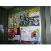 Реклама в лифтах, Днепровский р-н фото