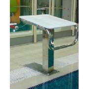 Тумба стартовая для бассейнов. Оборудование для бассейнов фото