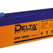Аккумулятор Delta DTM 12022 герметичный свинцово-кислотный фото