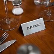 Бронирование столика в ресторане фото