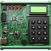 Стенд учебный лабораторный LESO1 на базе микроконтроллера ADuC842 фото