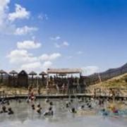 Целебные вулканические грязевые бассейны фото