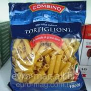 Макароны трубочки Combino Tortiglioni 1000 г фото