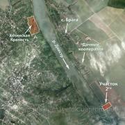 Земельный участок на берегу реки Днестр фото