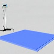 Врезные платформенные весы ВСП4-600В9 750х750 фото