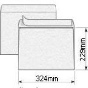 Конверт 229х324 С4 самоклеящаяся 120 г/м2 белый фото