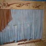 Пошив штор с аппликацией фото