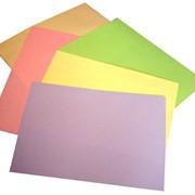 Бумага цветная фото