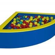 Сухой бассейн (Уголок-1) с шариками фото
