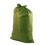 Мешки полипропиленовые д/мусора зелёные 50*100 пр- фото