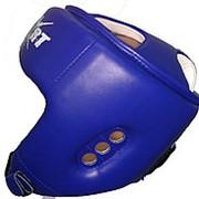 Шлем для тхэквондо ITF GTF (ИТФ) синий MC Sport фото