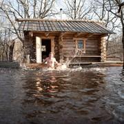Отдых в русской бане фото