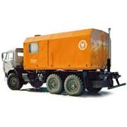 Установка промысловая паровая передвижная ППУА-1600/100 (шасси КАМАЗ-43118 6х6) фото
