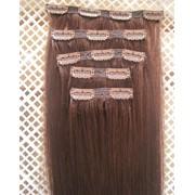 Волосы на заколках,38см,70грамм фото