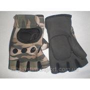Перчатки для тренажерного зала, велоперчатки 8015 фото