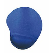 Коврик для мыши Buro гелевый, 230*205*25 мм, синий фото