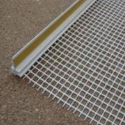 Пвх - профиль примыкания с сеткой 9 мм 2,4 м.п фото