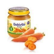 Пюре Bebivita 100г Морковь фото