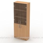 Шкаф для книг под стеклом фото