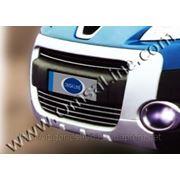 Накладки на решетку радиатора Peugeot Partner 2008'-.. фото