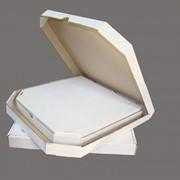 Коробка картонная для пиццы фото