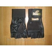 Перчатки для тренажерного зала с напульсником 420-449 фото